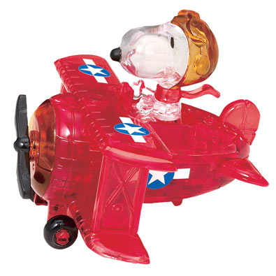 Red Baron Peanuts® 3D Crystal Puzzle