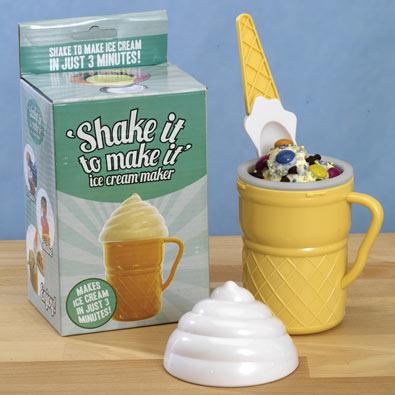Ice Cream Shaker Maker