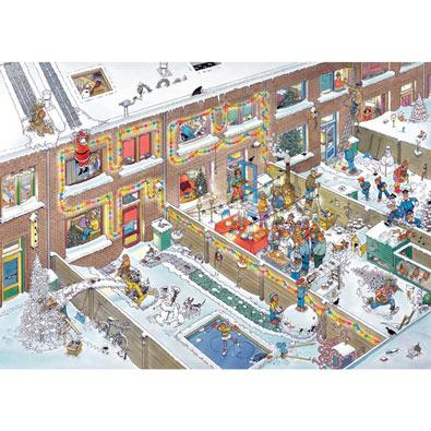 Christmas Eve 1000 Piece Jigsaw Puzzle