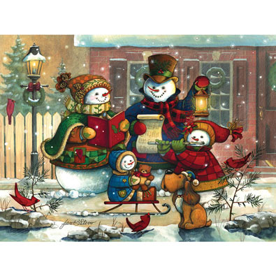 Song for the Season 500 Piece Jigsaw Puzzle