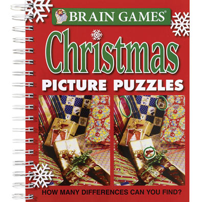 Christmas Picture Puzzles Book