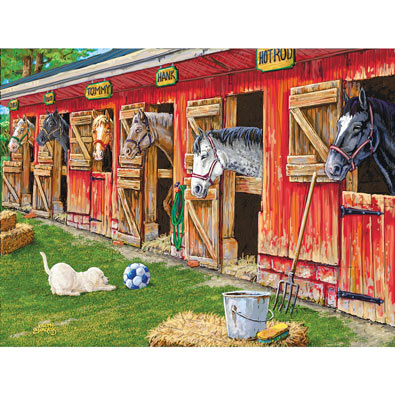The Boy's Team 300 Large Piece Jigsaw Puzzle