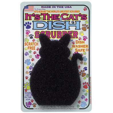 Cat Dish Scrubber