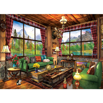 Cozy Cabin 1000 Piece Jigsaw Puzzle