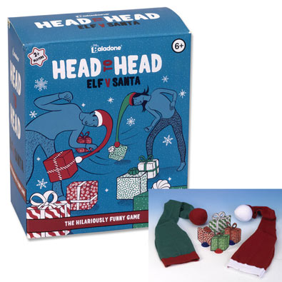 Head to Head Elf vs. Santa Holiday Game