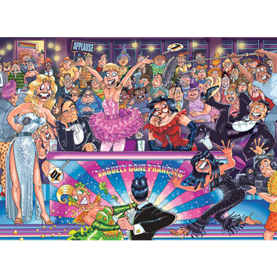 Strictly Can't Dance 1000 Piece Wasgij Jigsaw Puzzle
