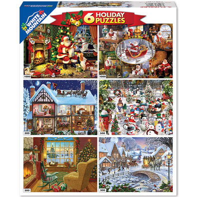 Holiday 6 in 1 Multipack Set