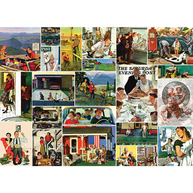 Family Time 1000 Piece Jigsaw Puzzle