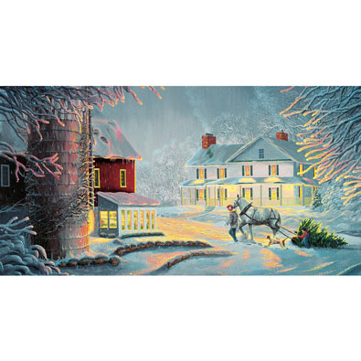 Coming Home 550 Piece Jigsaw Puzzle