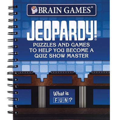 TV Puzzle and Game Books- Jeopardy
