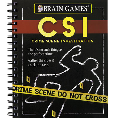 TV Puzzle and Game Books- CSI: Crime Scene Investigation