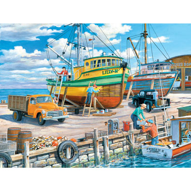 Sisters of the Sea 500 Piece Jigsaw Puzzle