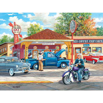 Remembering Full 500 Piece Jigsaw Puzzle