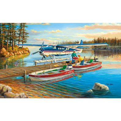Pickle Lake 300 Large Piece Jigsaw Puzzle