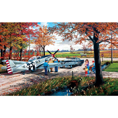 Emergency Landing 300 Large Piece Jigsaw Puzzle