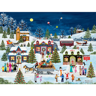 December 24th 550 Piece Jigsaw Puzzle
