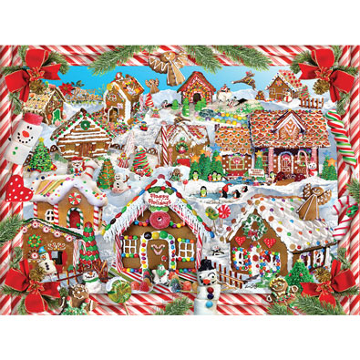 Gingerbread Lane 1000 Piece Jigsaw Puzzle