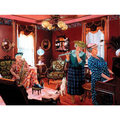 Girls in the Band 300 Large Piece Jigsaw Puzzle
