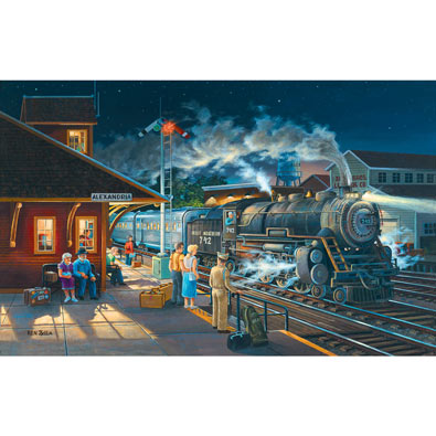Homeward Bound 550 Piece Jigsaw Puzzle