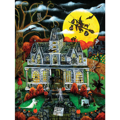 Halloween Potions and Tricks 500 Piece Jigsaw Puzzle