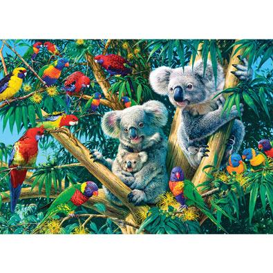 Koala Camp 500 Piece Glow-In-The-Dark Jigsaw Puzzle