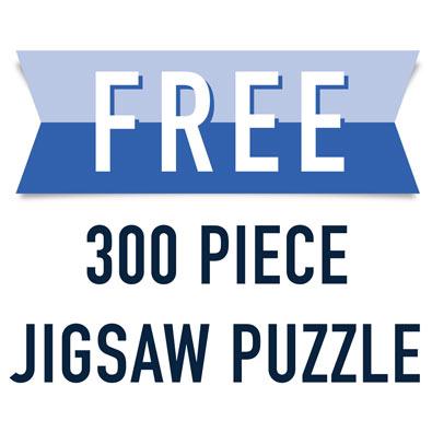 Free 300 Piece Jigsaw Puzzle