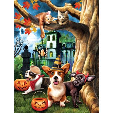 Halloween Hijinks 300 Large Piece Jigsaw Puzzle