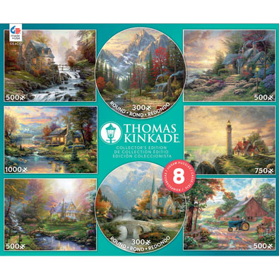 Thomas Kinkade 8 in 1 Multipack Set
