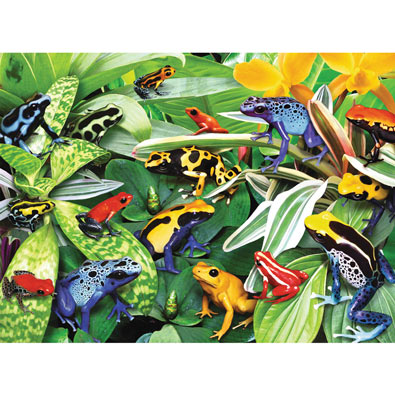 Friendly Frogs 300 Large Piece Jigsaw Puzzle
