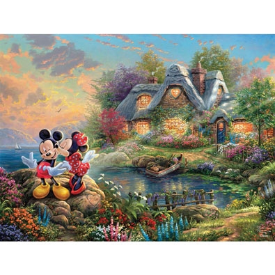Mickey and Minnie 750 Piece Jigsaw Puzzle