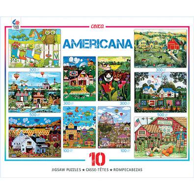 Americana 10 in 1 Multipack Set