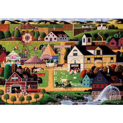 Chester County Fair 1000 Piece Jigsaw Puzzle