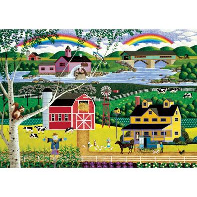 Double Rainbow 1000 Piece Jigsaw Puzzle