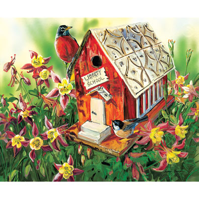 Liberty School 550 Piece Jigsaw Puzzle