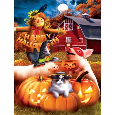Happy Halloween 500 Piece Jigsaw Puzzle