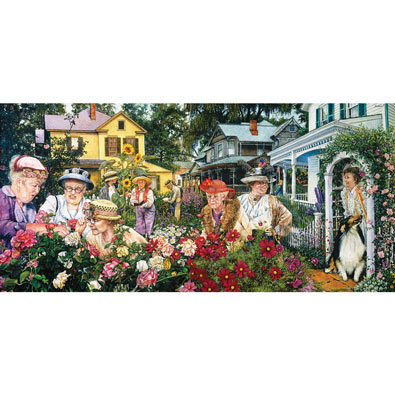 Ladies Garden Club 300 Large Piece Jigsaw Puzzle