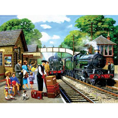 Train To The Coast 1000 Piece Jigsaw Puzzle Spilsbury