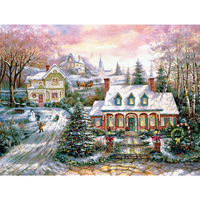 Holiday Magic 1000 Piece Jigsaw Puzzle