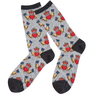 Claddagh Socks