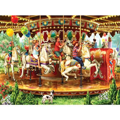 Carousel Ride 1000 Piece Jigsaw Puzzle