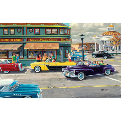 The Late Shift 300 Large Piece Jigsaw Puzzle