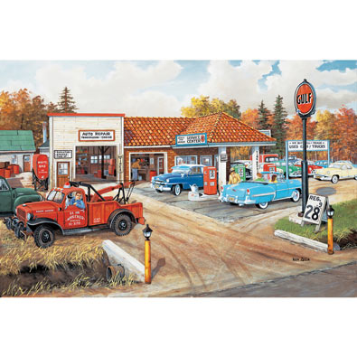 Full Service 300 Large Piece Jigsaw Puzzle