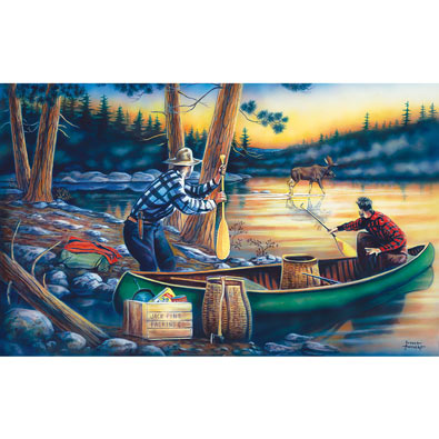 Lucky Break 300 Large Piece Jigsaw Puzzle