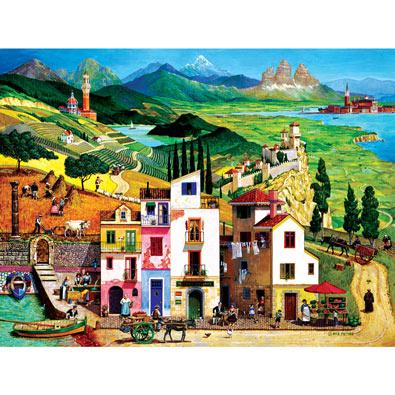 Italy 500 Piece Jigsaw Puzzle