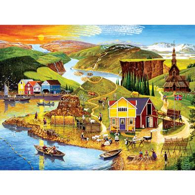 Norway 500 Piece Jigsaw Puzzle