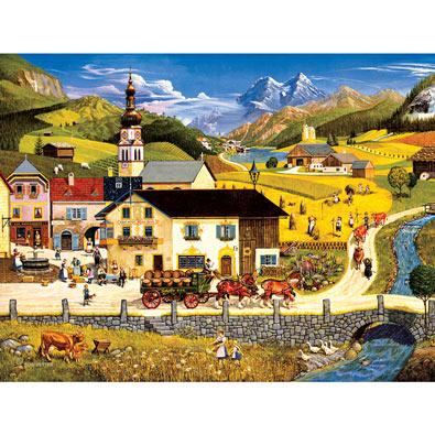 Austria 500 Piece Jigsaw Puzzle