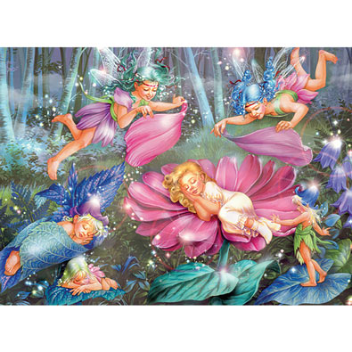 Evening Fairies 100 Piece Jigsaw Puzzle