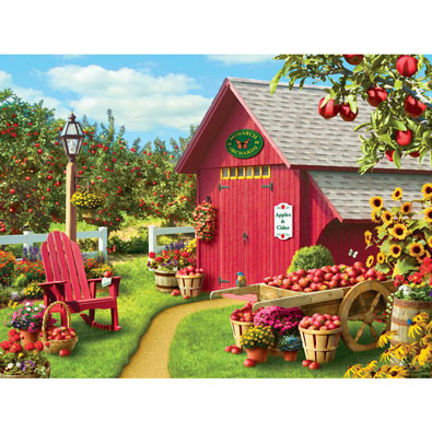 Apple Harvest 300 Large Piece Jigsaw Puzzle