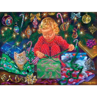 Wrapped with Love 300 Large Piece Jigsaw Puzzle