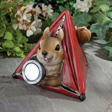Squirrel Solar lamp
